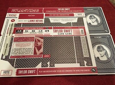 Taylor Swift Promo Card Game