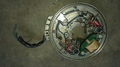 Johnson 9.9hp 15hp / evinrude outboard motor stator / coil points