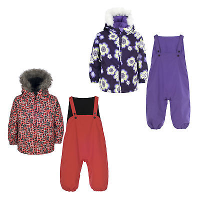 Trespass Poppet Baby Waterproof Padded All In One Suit Girls Boys Snowsuit