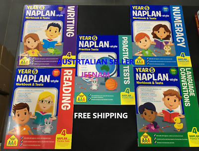 Naplan Book Sets For Year 5 + Free Shipping