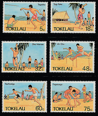 Tokelau Islands - 1987 Tokelau Olympic Sports - Set Of 6 - Muh