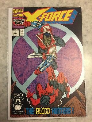 X-Force 2.  2nd Appearance Of Deadpool.  VF/NM Copy