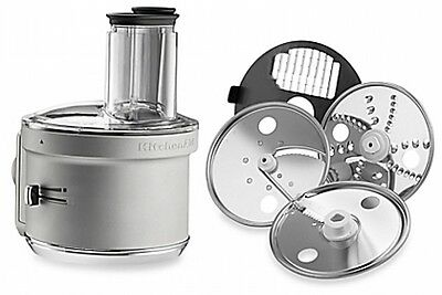 KitchenAid® Food Processor with Dicing Disc Stand Mixer Attachment in Steel
