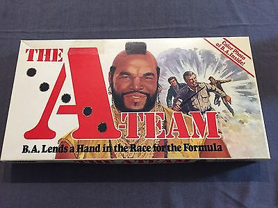 The A-Team Mr T Parker Brothers  Vintage Game Great Condition