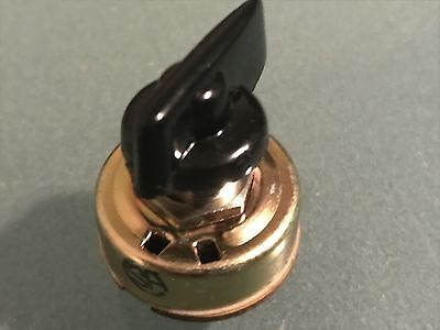 NOS Voltage Selector Switch 6 Position Single Pole for Fender Amps w/ black knob