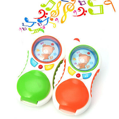 Child Baby press button music sound Educational Toy Gift Baby kids Cell Phone