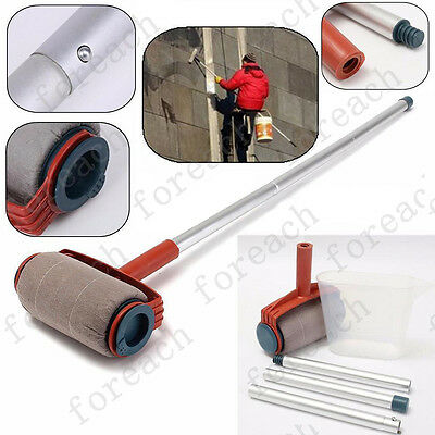 DIY Decor Wall Painting Roller Brush Paint Tool  Plastic Cup Tubes Decoration