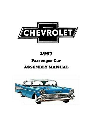 1957 chevrolet owners manua