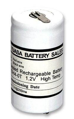 Batteries - Rechargeable - BATTERY NICAD 1D 4AH