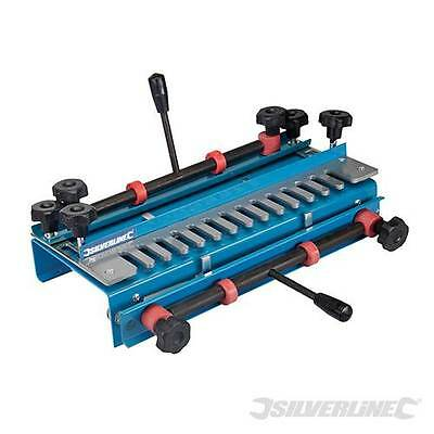 Dovetail Jig 300mm Width Capacity for cutting both parts of a joint, Heavy duty