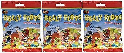 (3) JELLY BELLY Belly Flops 4.7oz Bags EXP 8/12/2018 (Free Shipping)