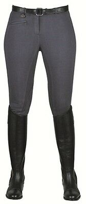 SALE! Ladies HKM Cotton Stretch Horse Riding Breeches - Grey - Various Sizes