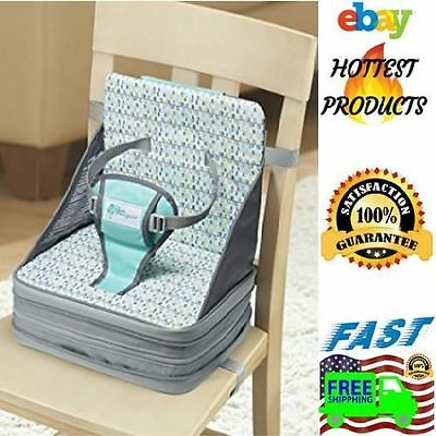Infant Feeding High Chair Compact Travel Folding Portable Baby Booster Seating