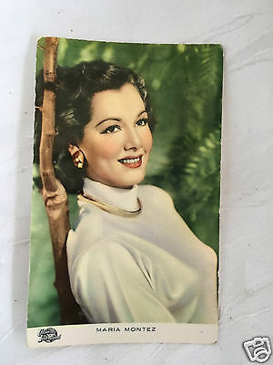 Vintage/retro - Maria Montez - Postcard - Has Been Used - But Great Item