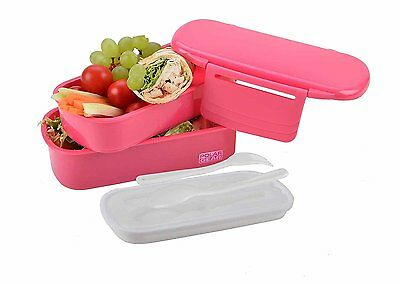 Polar Gear Polypropylen Bento Lunch Food Box with Ice Pack, Pink