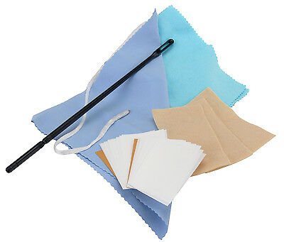 Classic Cantabile Cleaning Set Kit For German/transverse Flute With Rod & Wipers