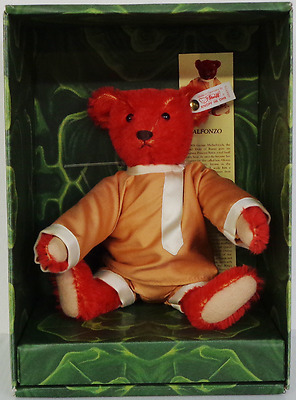 Steiff Bear 'baby Alfonzo' Limited Edition Box And Certificate