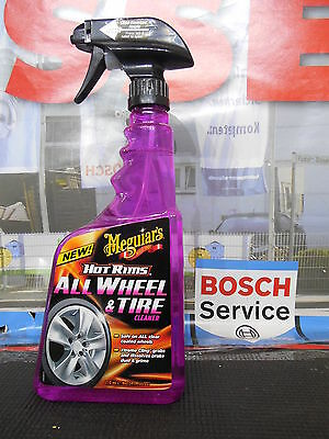 Meguiar's Autopflege HOT RIMS ALL WHEEL CLEANER , FELGENREINIGER 710ml