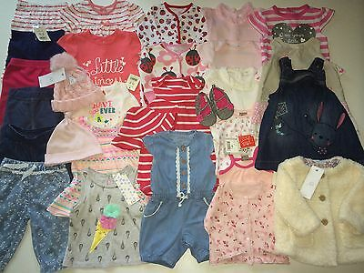 *Baby Girls Clothes/Lovely Collection/Bundle Of Baby Girls Clothing 0/3 Months)
