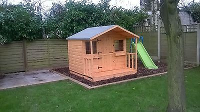 Shedrites Wooden 6X6 Playhouse Inc 2Ft Porch