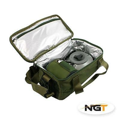 NGT Insulated Brew Kit / Stove Bag,  for Carp Fishing (474)