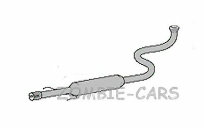 TOYOTA YARIS 1300cc EXHAUST CENTRE MIDDLE SILENCER 99-03