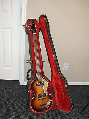 Vintage 1967 Hofner 500/1 Beatle Bass Guitar - All Original