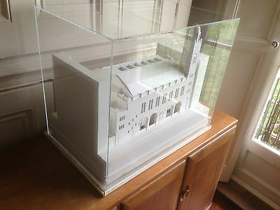 Professional Scratch Built Architectural Model Tabernacle Mosque Church Cased