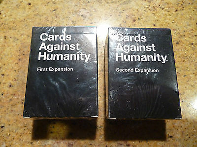 Cards Against Humanity + First And Second Expansion Card Game
