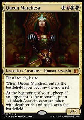 CONSPIRACY - QUEEN MARCHESA Magic CN2 Mint