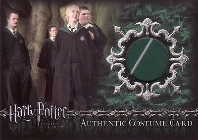 Harry Potter Goblet of Fire Update Slytherin Students BC1 Incentive Costume Card