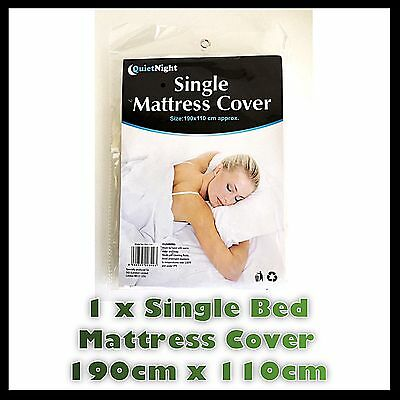 Single Fitted Mattress Protector Sheet Matress Cover Water Resistant Washable
