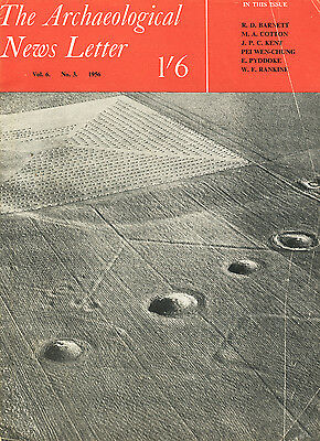 The Archaeological News Letter Vol.6 No.3 1956 [Ras Shamra, Microliths, GB coins
