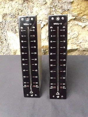 EAB W66a-U Faders ideal for use with V72, V74 Telefunken, TAB pre amps etc. Pair
