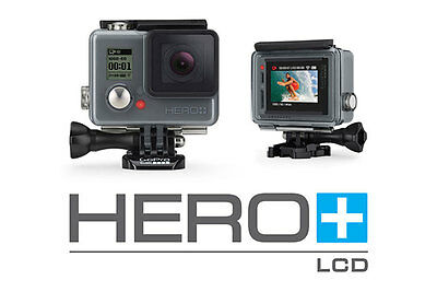 BRAND NEW - GoPro HERO+ Camera with LCD Touch Screen (8 MP, 1080p)
