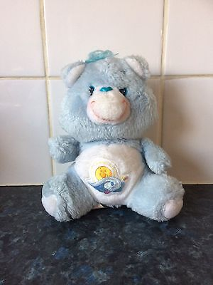 """Vintage 1980's 6"""" Sea Friend Care Bear In Excellent Condition."""