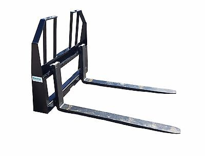 Brand New Walk Through High Visibility Pallet Forks Powder  Coated Free Shipping