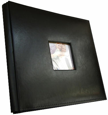 "Leather Album / Scrapbook 12""x12"" 30 Post Bound Pages"