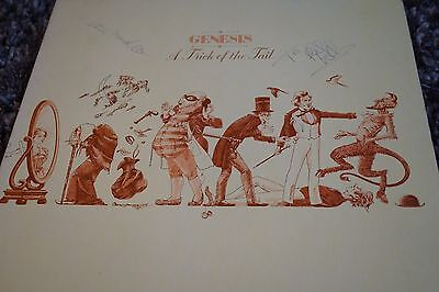 Genesis A Trick Of The Tail Signed Phil Collins Steve Hacket Charisma Records