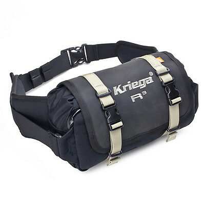 Kriega  R3 WAIST PACK 100% waterproof protection for essentials on the go