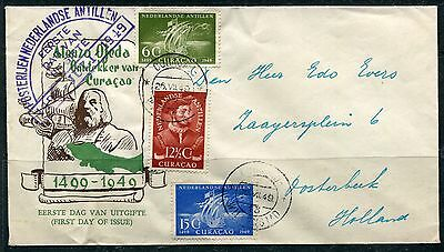 Netherlands Antilles 1949 First Day Cover (Lot #SB22)