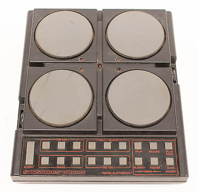 Vintage Mattel Electronics Synsonics Drums - Electronic Analog Drum Machine