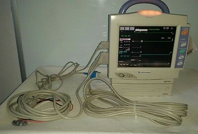 Nihon Kohden Bedside Patient Vital Signs Monitor w/ CO2 option - Printer, Cables