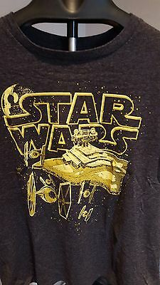 Star Wars Men's T-Shirt Size XL  MINT CONDITION!