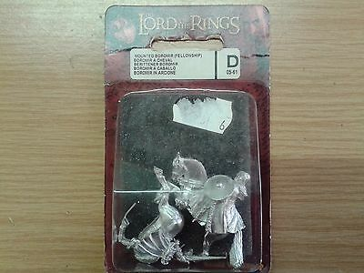 LOTR Lord Of The Ring MOUNTED BOROMIR (FELLOWSHIP) metal OOP sealed