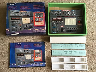 Intertan   300 In 1   Electronic Lab   Unit & Manual Only   Boxed