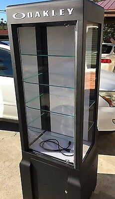 Oakley Display Case Tower 3.0 Mega Single Wide Local Pickup Rare Stand Collectio