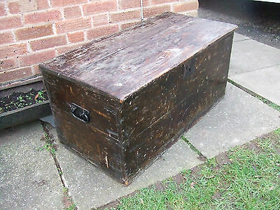 antique coffer or blanket box