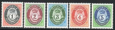 NORWAY MNH 1992 -1998 Posthorn