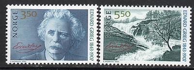 NORWAY MNH 1993 The 150th Anniversary of the Birth of Edward Grieg